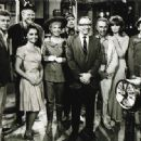 Producer Sherwood Schwartz Wth The Gilligan's Island Cast