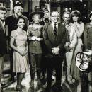 Producer Sherwood Schwartz Wth The Gilligan's Island Cast
