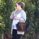 Haylie Duff Out and About In La