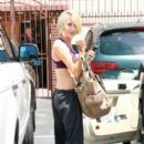 Chelsea Kane was spotted leaving rehearsals for Dancing With The Stars today, May 19, in Los Angeles.