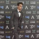 Jon Kortajarena on the red carpet of the Goya Cinema Awards 2015 In Madrid
