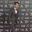Jon Kortajarena on the red carpet of the Goya Cinema Awards 2015 In Madrid