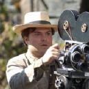 Director Carl Denham (Jack Black) films the fantastical world of Skull Island in the dramatic adventure 'King Kong.'