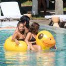 Leigh-Anne Pinnock – Bikini enjoying Miami Beach - 454 x 303