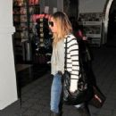 Ashley Tisdale: Departing LAX to Las Vegas