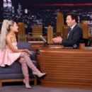 Ariana Grande – 'The Tonight Show Starring Jimmy Fallon' in NYC - 454 x 303