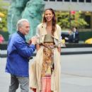 Joan Smalls – Doing a photoshoot in New York - 454 x 596