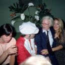 Elton John, Andy Warhol and Jerry Hall at Grace Jones birthday party. (New York, 12 June 1978.)