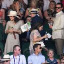 Emma Watson – Wimbledon 2018 Men's Singles Final in London