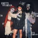 Vanessa Hudgens – Knott's Scary Farm Celebrity Night Photocall in Buena Park - 454 x 612