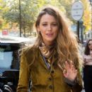 Blake Lively – Leaving her hotel in Paris