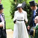 Meghan Markle – 2018 Royal Ascot Day One in Berkshire - 454 x 681