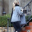 Jennifer Morrison in Spandex out in Los Angeles December 25, 2016