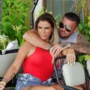 Katie Price and boyfriend Carl Woods on holiday in the Maldives - 454 x 585