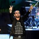 Ringo Starr performs during the Ringo Starr and his All Starr Band concert at The Greek Theatre on September 01, 2019 in Los Angeles, California - 454 x 534