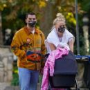 Sophie Turner – With Joe Jonas and daughter Willa out in Los Angeles