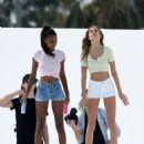 Jasmine Tookes and Josephine Skriver – Photoshoot in Miami - 454 x 589