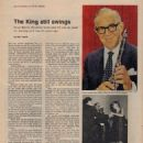 Benny Goodman - Sunday New York News Magazine Pictorial [United States] (9 October 1966) - 454 x 567