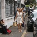 Pamela Anderson – Arriving at Strictly Come Dancing in Paris - 454 x 356