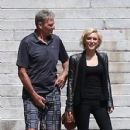 Nicky Whelan with Sam Newman in LA - 428 x 643