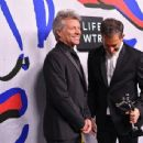 Jon Bon Jovi during the 2017 CFDA Fashion Awards at Hammerstein Ballroom on June 5, 2017 in New York City - 454 x 343