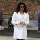 Priyanka Chopra – Filming 'Quantico' set in New York - 454 x 776