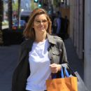Maria Menounos – Shopping at Louis Vuitton in Beverly Hills