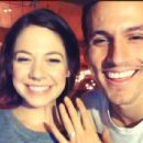 Engaged! ' I met this man six years ago, and today, he has asked me to spend the rest of our lives together--facing all of life's surprises as one. Of course, I said yes :),' wrote Analeigh Tipton on her Instagram