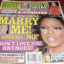 Oprah Winfrey - National Examiner Magazine [United States] (13 October 2008)