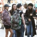 Victoria Justice and Madison Reed – Out and about in Venice
