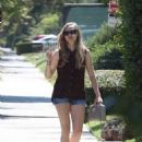 Amanda Seyfried and Justin Long in Los Angeles (August 29)