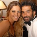 Marcos Pasquim and Fernanda Lima