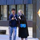 Elle Fanning and Max Minghella – Out in London