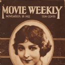 Florence Vidor - Movie Weekly Magazine [United States] (18 November 1922)