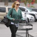 Amy Adams in Tights – Shopping at Pavillions in West Hollywood