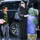 Angelina Jolie is seen out in New York City (December 14, 2017)
