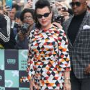 Debi Mazar – Promotes TV series 'Younger' at AOL Build Series in NY - 454 x 681