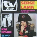 Serge Lama - TV Jour Magazine Cover [France] (17 October 1984)