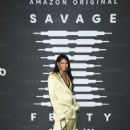Chanel Iman – Savage x Fenty Show Presented By Amazon Prime Video in Brooklyn - 454 x 681
