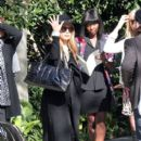 Rachel Zoe: leaving from a house party held in Beverly Hills