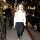Rachel McAdams – Arrives at Madeo in Los Angeles