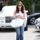 Lisa Vanderpump is seen leaving Epione Cosmetic Dermatology in Beverly Hills, California on May 1, 2015 - 454 x 588