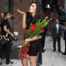 Jimena Navarrete - Arriving At The Late Show With Letterman - 2010-08-25