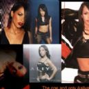 Aaliyah Picture Collage