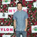 Actor Josh Henderson attends the NYLON Midnight Garden Party at a private residence on April 10, 2015 in Bermuda Dunes, California - 454 x 303