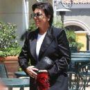 Kris Jenner heading to lunch at Sugar Fish in Calabasas, California on June 6, 2014