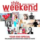 Style Weekend Magazine Cover [Philippines] (30 December 2011)