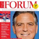 George Clooney - Forum Magazine Cover [Poland] (15 May 2015)