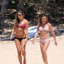Lea Michele – On beach in Hawaii