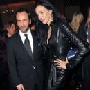 Tom Ford and L'Wren Scott attend a Celebration of 10 Years of IHT Luxury Conferences during the International Heral Tribune Heritage Luxury Conference at One Mayfair on November 9, 2010 in London, England